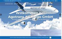 Webprojekt für Agotrans Air Cargo GmbH aus Frankfurt