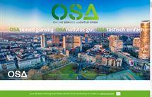 Webprojekt für OSA Online Service Agentur GmbH aus Essen